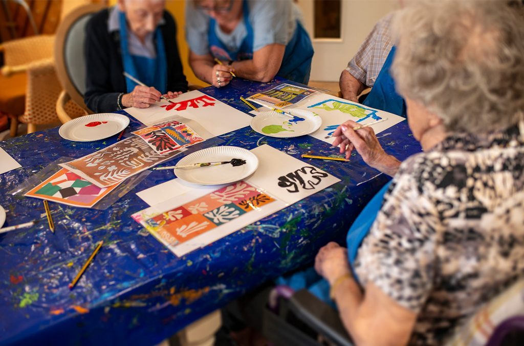 Arts In Care Homes - Visual Arts