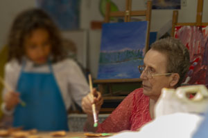 Intergenerational arts