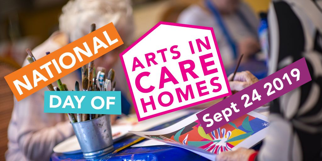 National Day of Arts in Care Homes – 24 September 2019