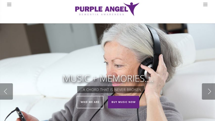 Purple Angel website