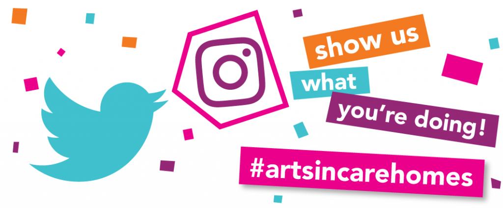 show us what event you're organising – #artsincarehomes