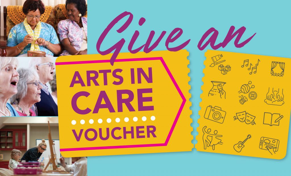 Arts in Care vouchers