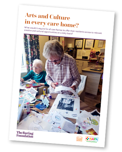 Arts and Culture in Every Care Home?